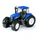 PROMOTION !! Bruder - Tracteur New Holland TG285