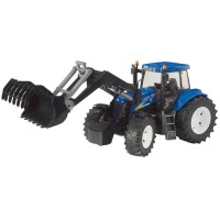 Tracteur New Holland TG285 avec chargeur frontal