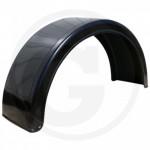 Garde-boue pour roue arrière 630x1830 mm rayon 550 mm