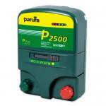 Patura P2500, Electrificateur multifonction sur secteur 230 V et batterie 12V avec boitier antivol et piquet de terre
