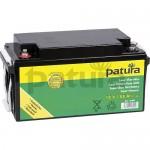 PATURA - Super Batterie fixée AGM 12 V / 88 Ah, pour électrificateurs 12 V, tous positionnements
