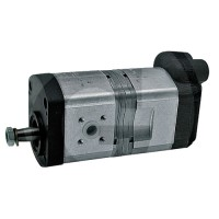 Pompe hydraulique double 2xM18 Case Ih