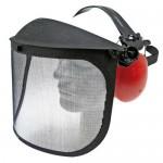 Équipement de protection anti-bruit avec visière