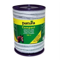 Patura Ruban COMPACT blanc-vert 20 mm - 400 m