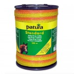 Patura Ruban STANDARD jaune-orange 20 mm - 200 m
