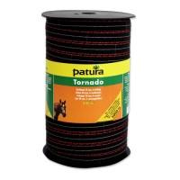 Patura Ruban TORNADO marron 12,5 mm - 200 m