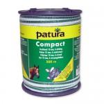 Patura Ruban COMPACT blanc-vert 10 mm - 200 m