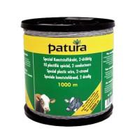 PATURA Fil plastifié spécial transparent - 500 m