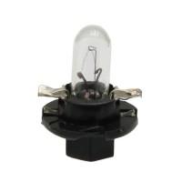 Ampoule avec culot en plastique - Couleur Noir