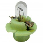 Ampoule avec culot en plastique - Couleur Blanc/vert