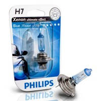 Ampoule Philips BlueVision Ultra H7 12V 55W