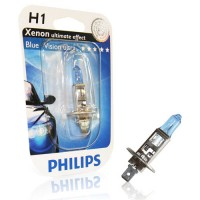 Ampoule Philips BlueVision Ultra H1 12V 55W