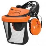 Protection anti-bruit avec visière en acier Peltor 3M G500