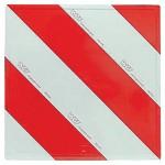 Plaques de signalisation bilatérale droite 423 x 423 mm DIN 11030