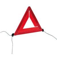 Triangle d'avertissement /de signalisation , ECE (EAQ avec barre), avec pieds.
