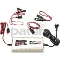 PATURA - Chargeur intelligent - automatique pour 12V-7A, spécial pour batterie accu 12V
