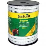 Patura Ruban SUPER 20 mm blanc-vert, 6 conducteurs inox - 200 m